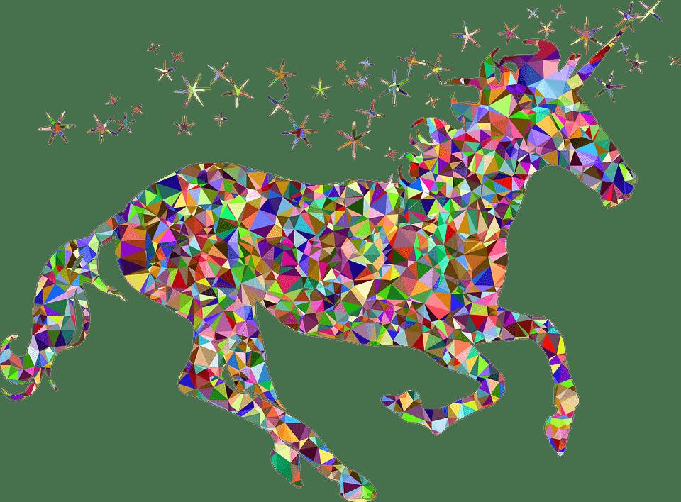 Fantasy Unicorn Multicolour transparent PNG - StickPNG