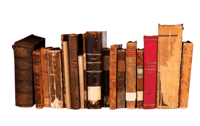 Books In A Row transparent PNG StickPNG