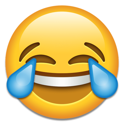 Face With Tears Of Joy Emoji transparent PNG - Stic.PNG