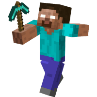 Minecraft Hero transparent PNG