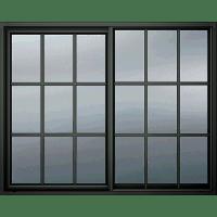 Black Window Frame transparent PNG - StickPNG