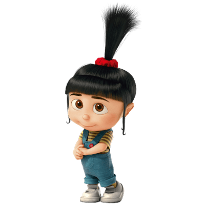 Boy Beating Girl Wallpaper Agnes Despicable Me Transparent Png Stickpng