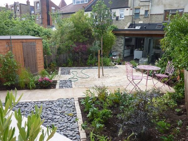 olive tree garden design in nottingham