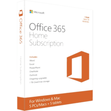 Microsoft Office 365 Home Subscription + Exclusive