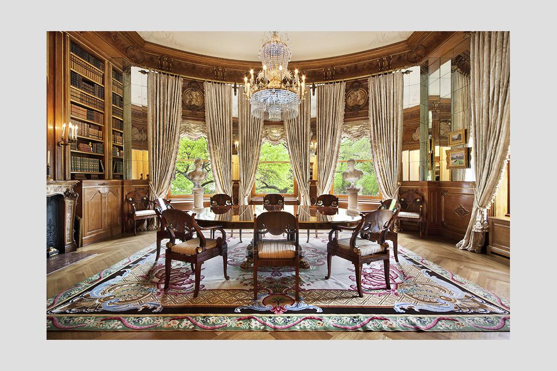 100 126 Custom Luxury Dining Room  Bamboo Living Room