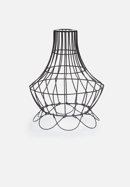 Elegant wire lamp shade Temerity Jones Lighting