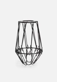 Small cage wire lamp shade Temerity Jones Lighting