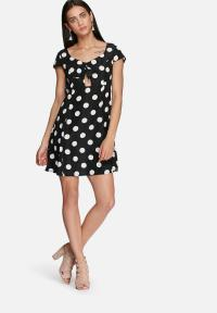 Sweetheart dress - black & white Glamorous Casual ...