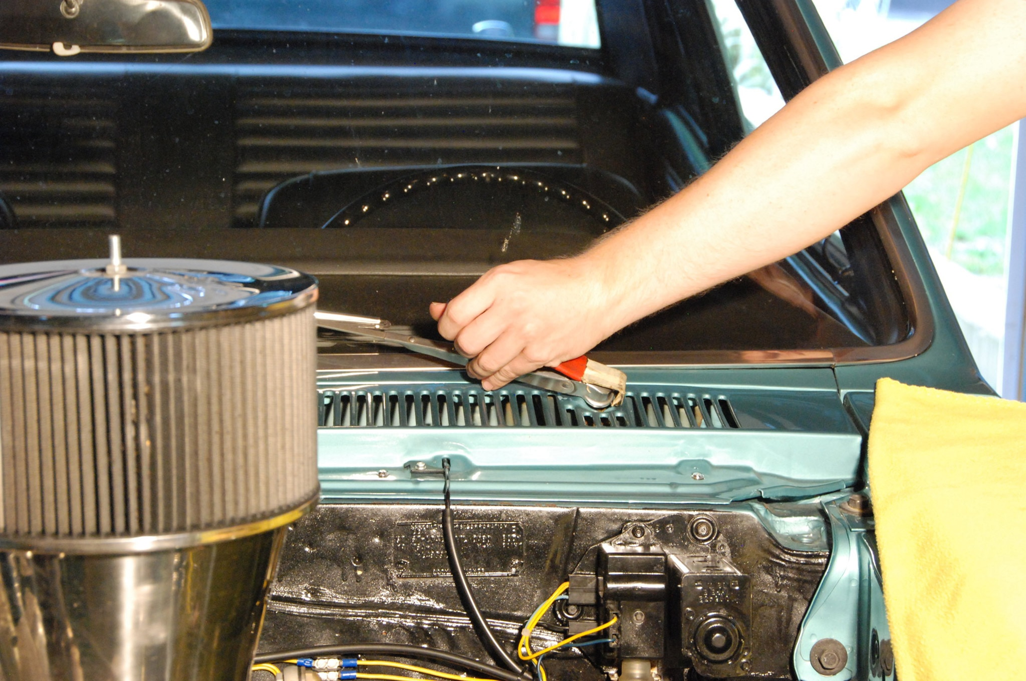 small resolution of  motor wiring 1969 chevelle engine wiring installing new port engineering u0027s clean wipe wiper drive for a 1966new port engineering wiper