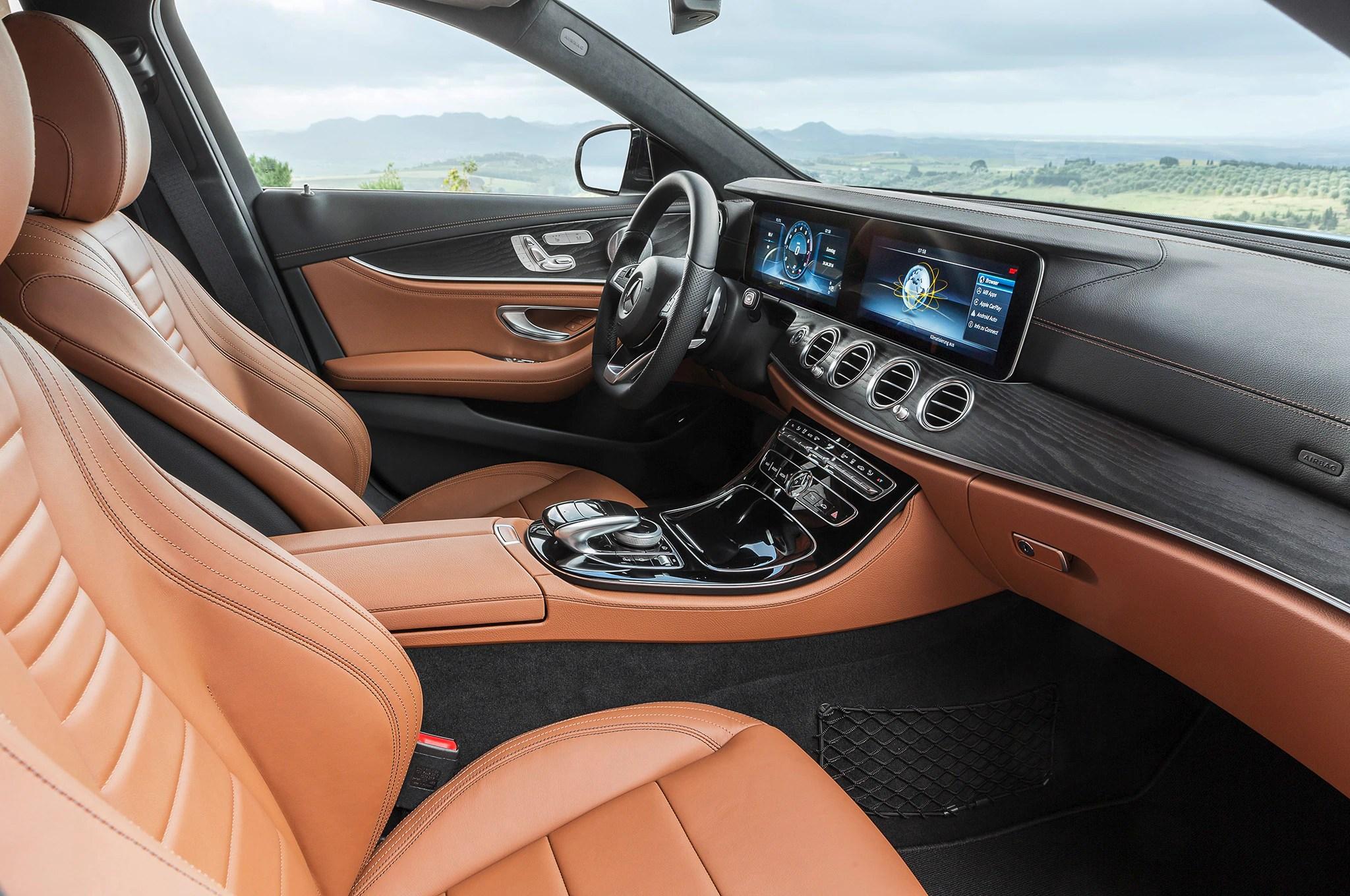 small resolution of 2017 mercedes benz e400 4matic wagon interior