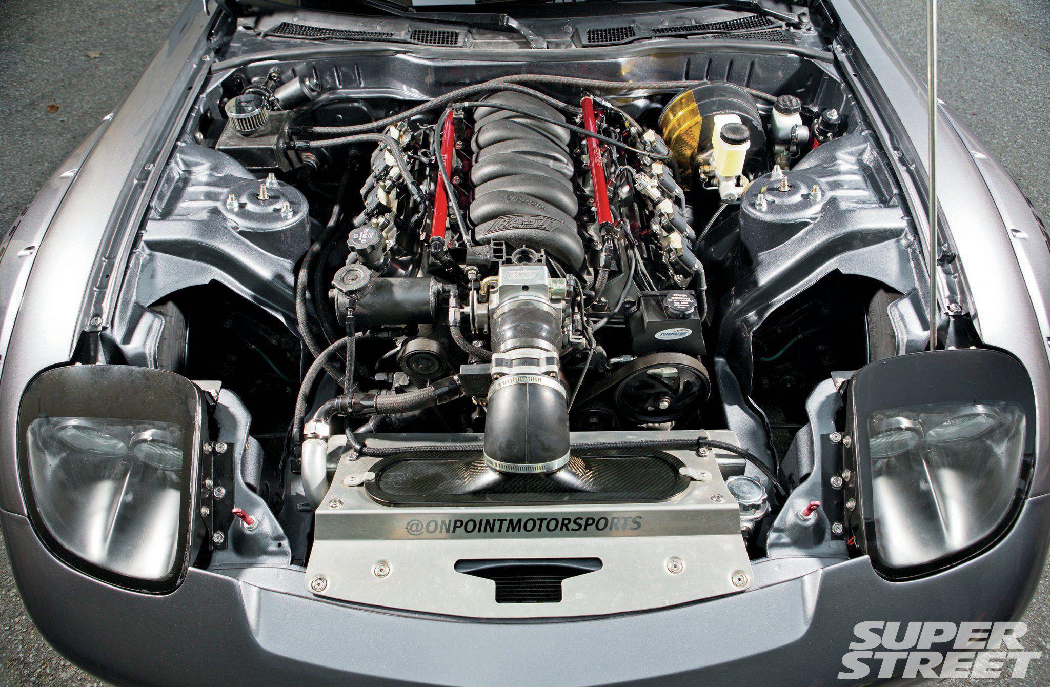 hight resolution of 1993 mazda rx7 gm ls1 engine 06