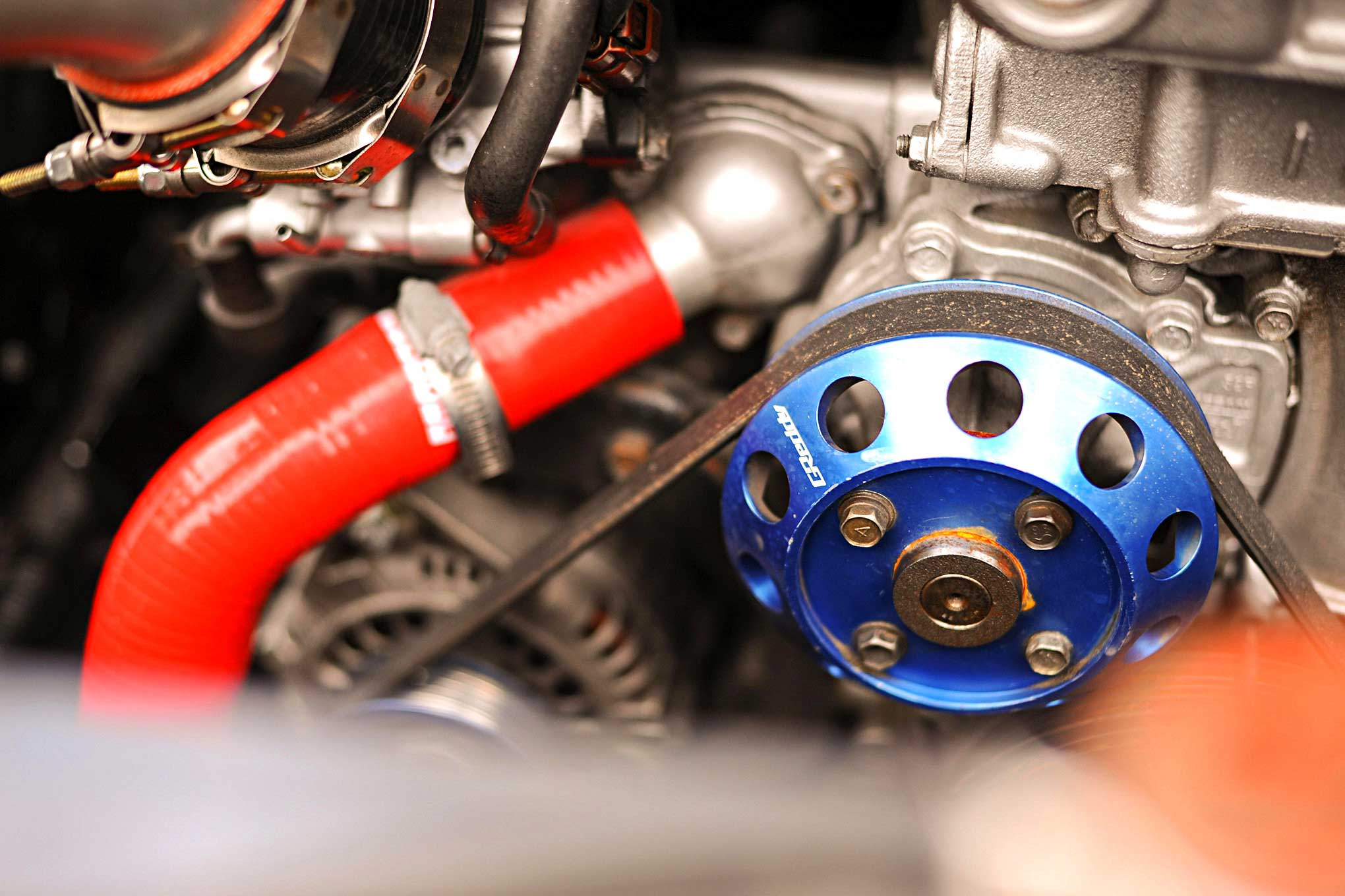small resolution of 1992 nissan 240sx greddy pulley