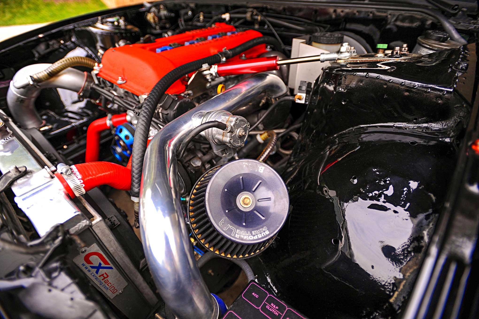 hight resolution of 1992 nissan 240sx suspower core type lm air intake filter
