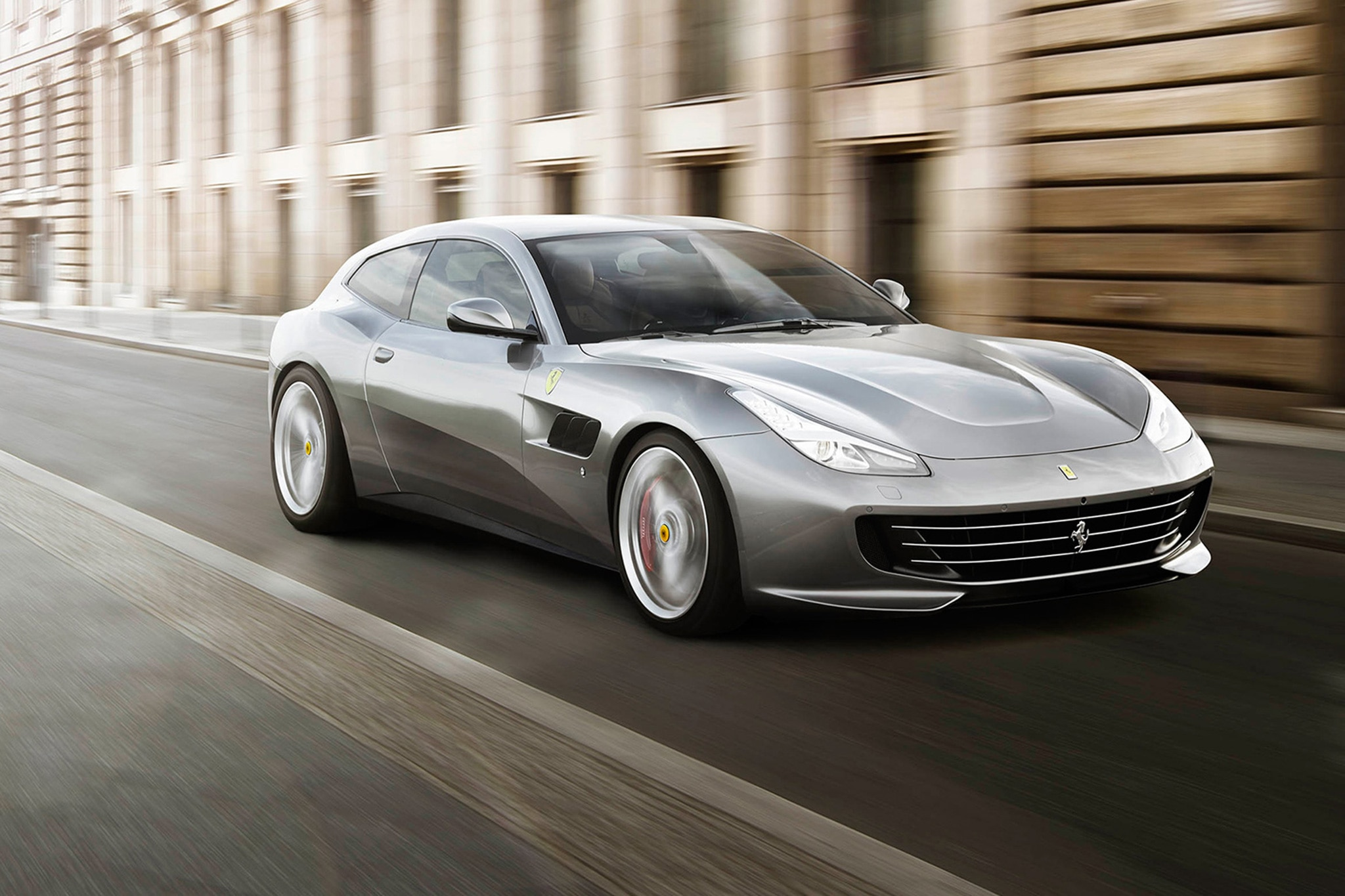 small resolution of 2018 ferrari gtc4lusso t front three quarter in motion 01