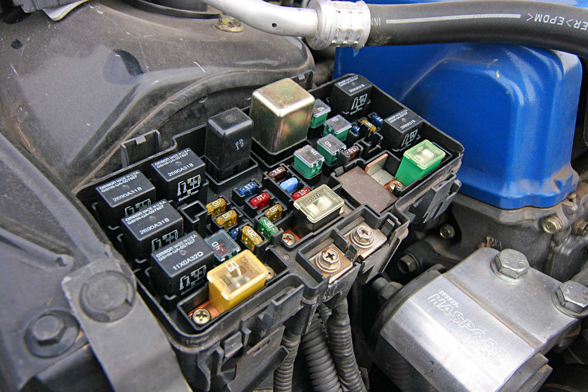 small resolution of honda s2000 fuse box relocation kit