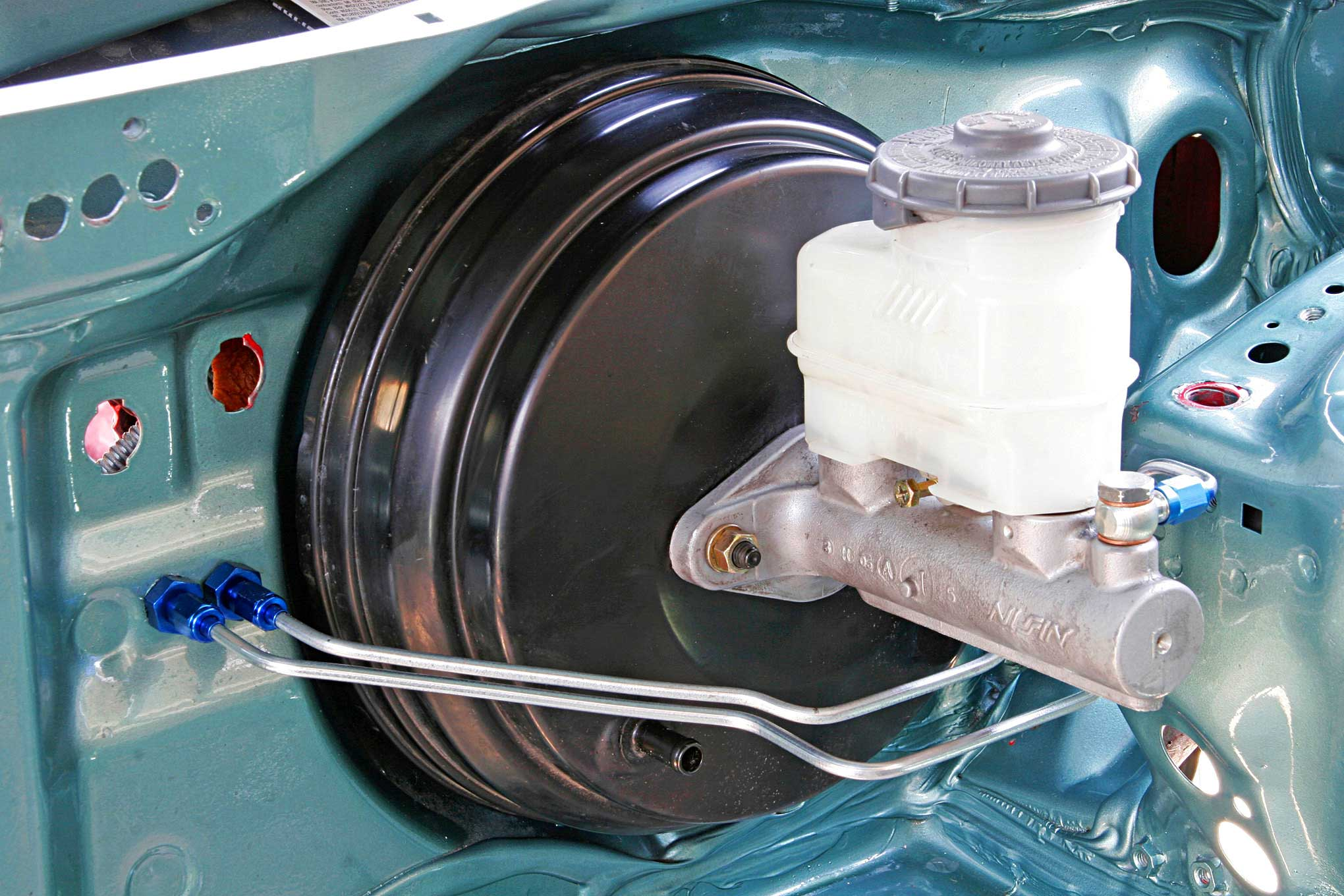 hight resolution of your guide to a proper shaved and tucked bay remountted brake booster