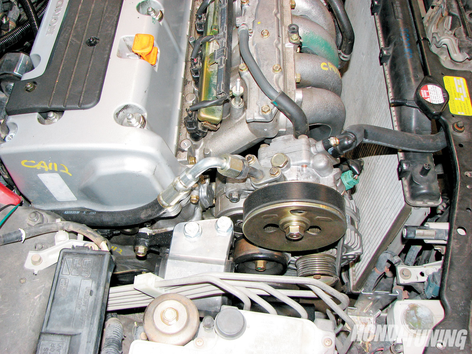 honda accord k24 engine swap honda tuning magazinhtup 1007 07 o honda accord k24 engine swap [ 1600 x 1200 Pixel ]