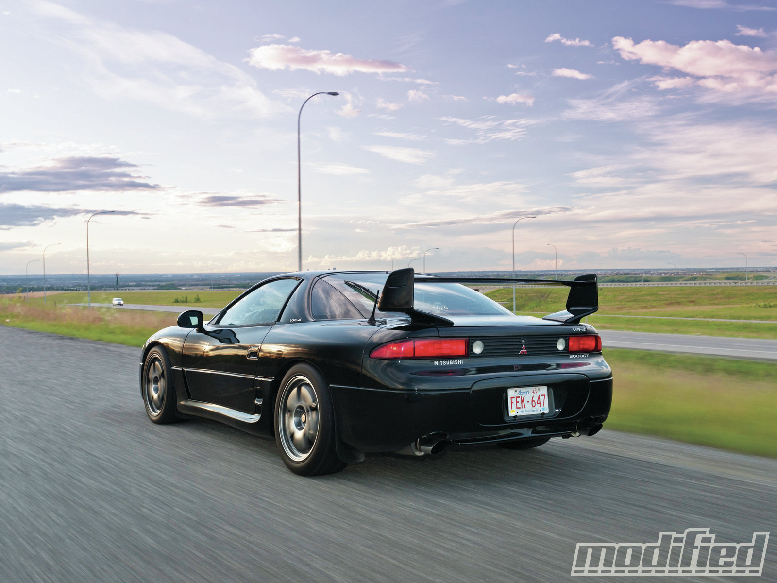 hight resolution of modp 1112 09 1999 mitsubishi 3000gt vr4 rear view