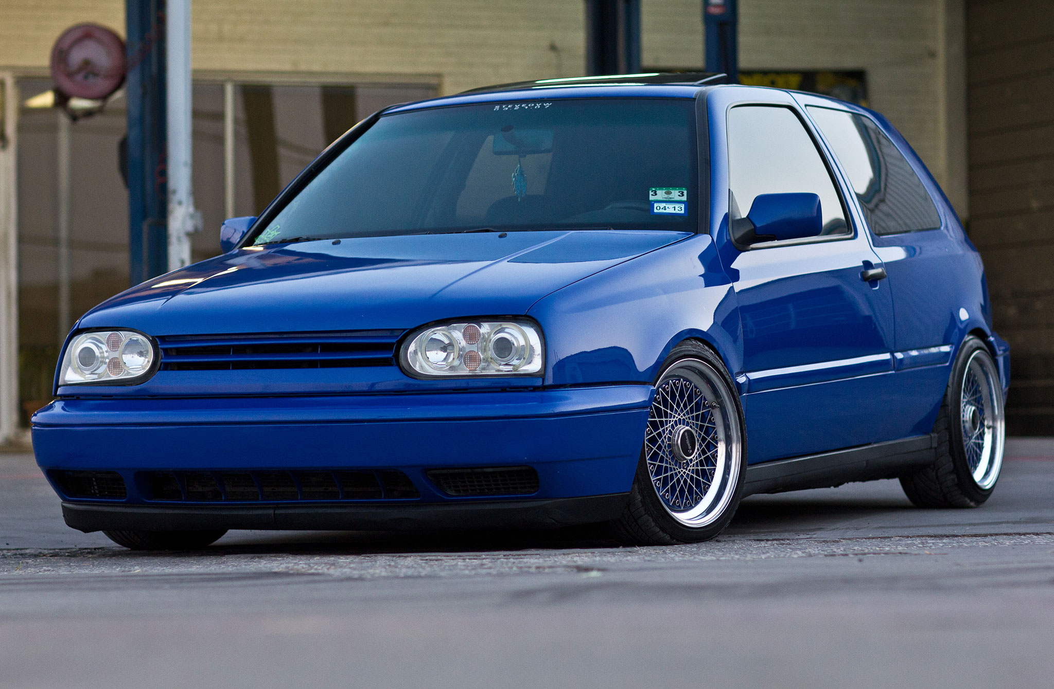 1997 volkswagen gti vr6 drivers edition shaved front bumper 03 [ 2048 x 1340 Pixel ]