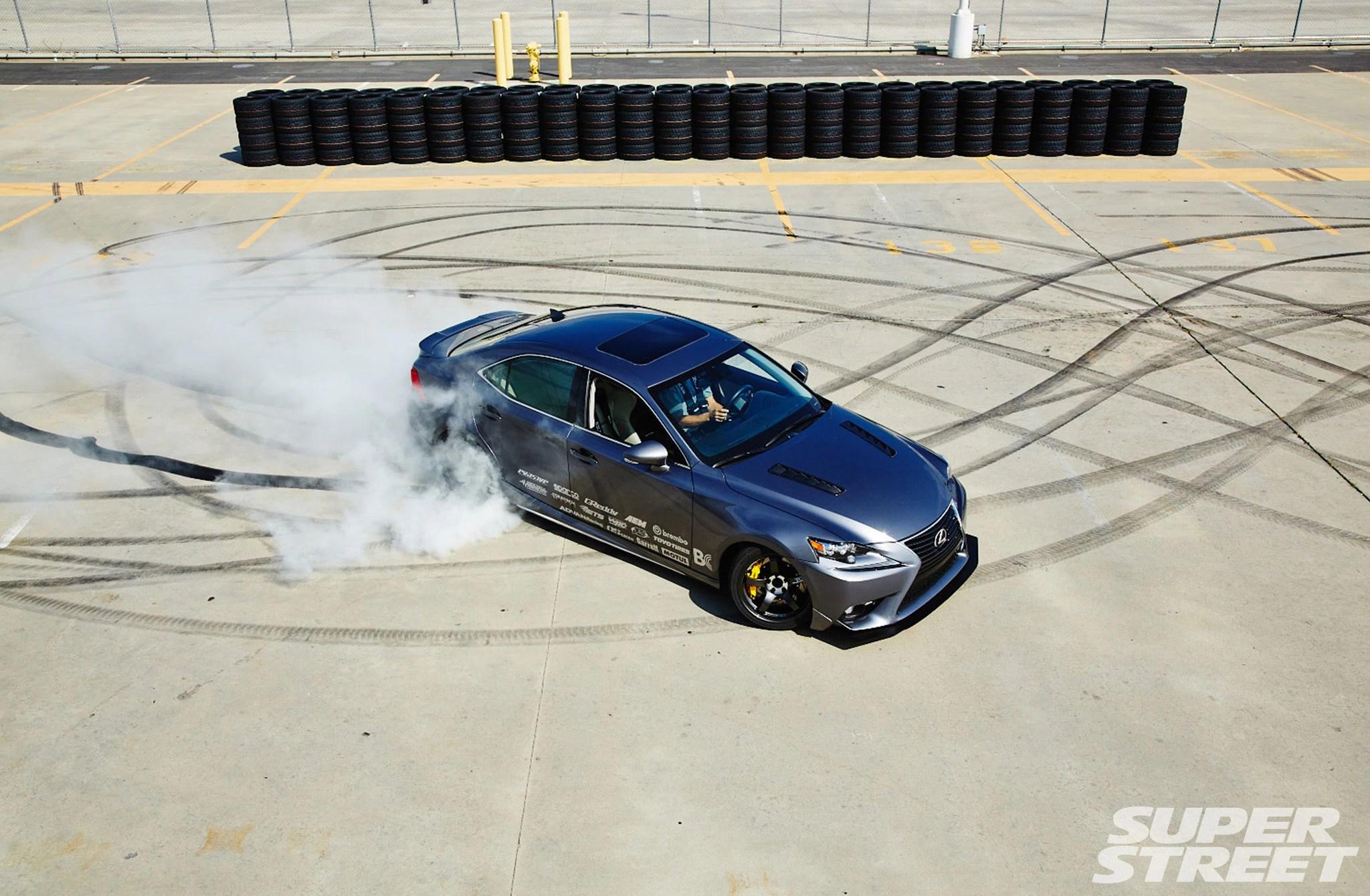 hight resolution of 2014 lexus is 350 burnout 08