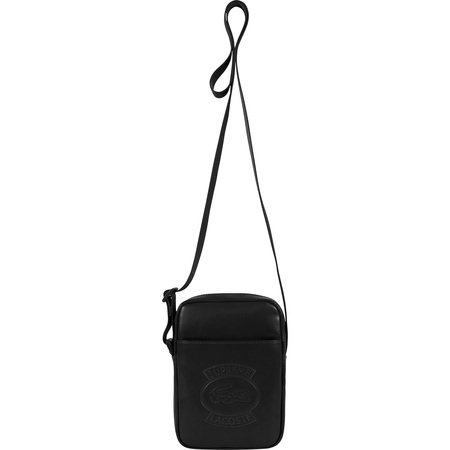 Supreme®/LACOSTE Shoulder Bag (Black)