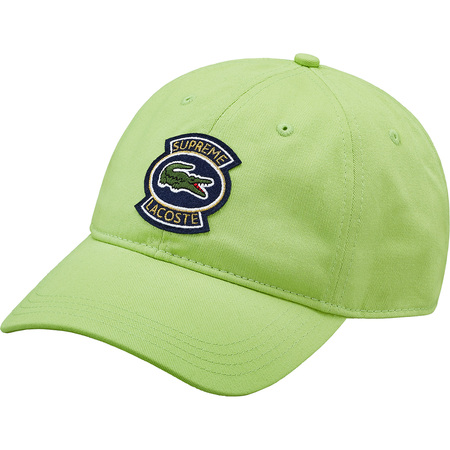 Supreme®/LACOSTE Twill 6-Panel (Green)