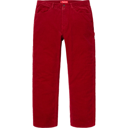Corduroy Painter Pant (Red)