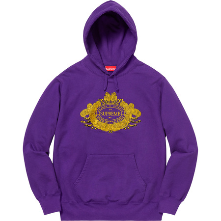 Love or Hate Hooded Sweatshirt (Purple)