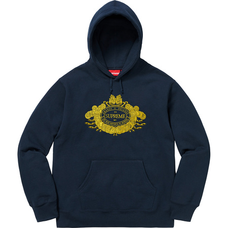Love or Hate Hooded Sweatshirt (Navy)