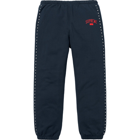 Studded Sweatpant (Navy)