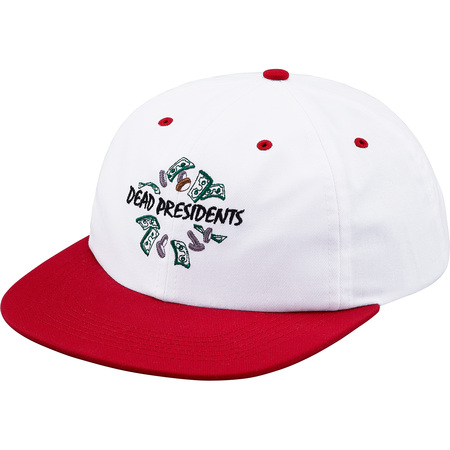Dead Presidents 6-Panel Hat (Red)