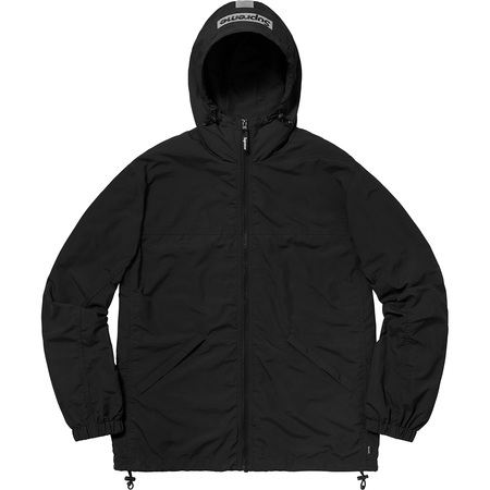 2-Tone Zip Up Jacket (Black)