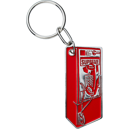 Payphone Keychain (Red)