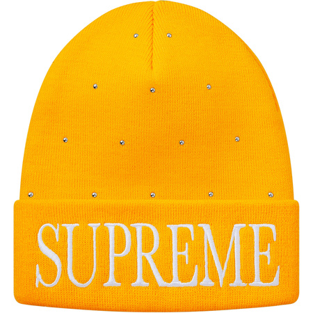 Studded Beanie (Yellow)