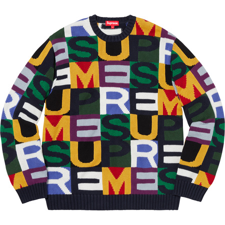 Big Letters Sweater (Multicolor)