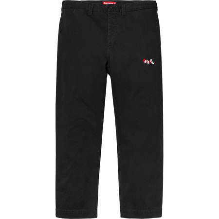 Cat in the Hat Chino Pant (Black)