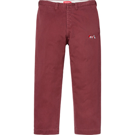 Cat in the Hat Chino Pant (Burgundy)
