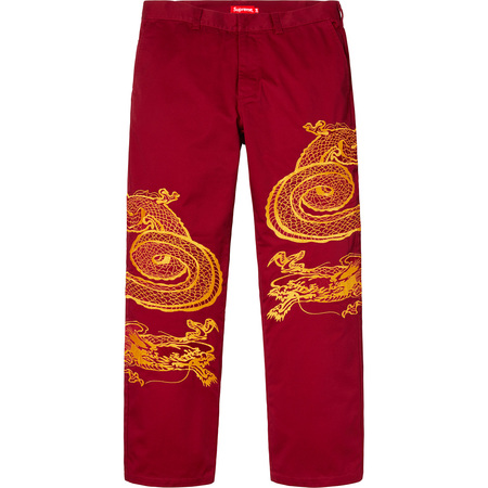 Dragon Work Pant (Red)
