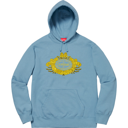 Love or Hate Hooded Sweatshirt (Dusty Blue)
