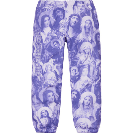 Jesus and Mary Sweatpant (Purple)