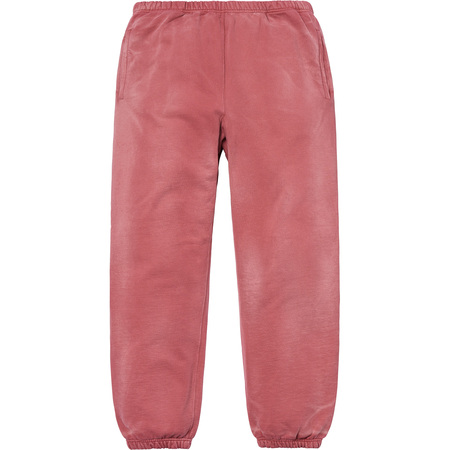 Bleached Sweatpant (Dark Rose)