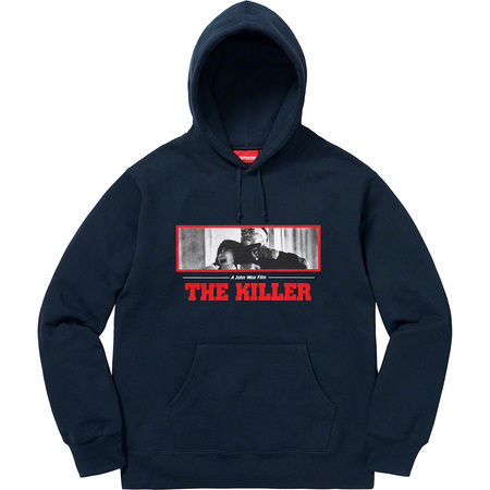 The Killer Hooded Sweatshirt (Navy)