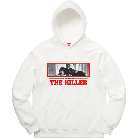 The Killer Hooded Sweatshirt (White)