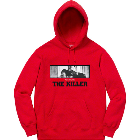 The Killer Hooded Sweatshirt (Red)