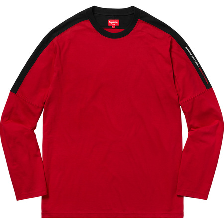 Paneled L/S Top (Red)