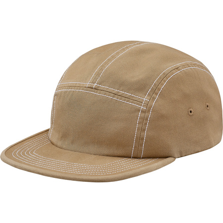 Fitted Rear Patch Camp Cap (Tan)