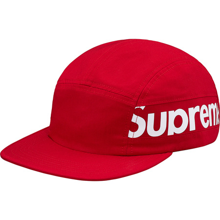 Side Panel Camp Cap (Red)