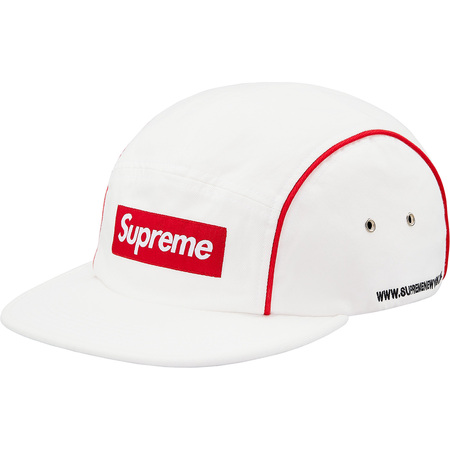 Piping Camp Cap (White)