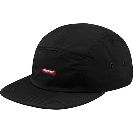 Clear Patch Camp Cap (Black)