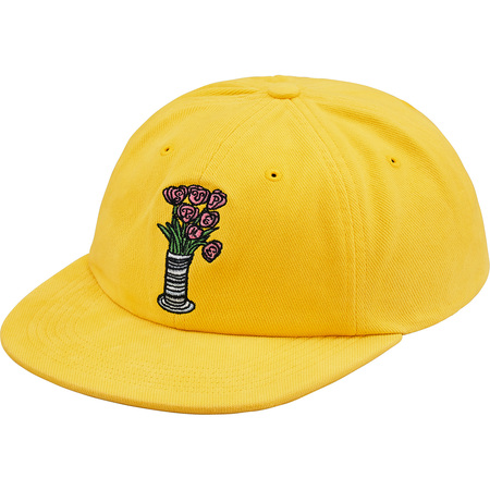 Flowers 6-Panel (Yellow)